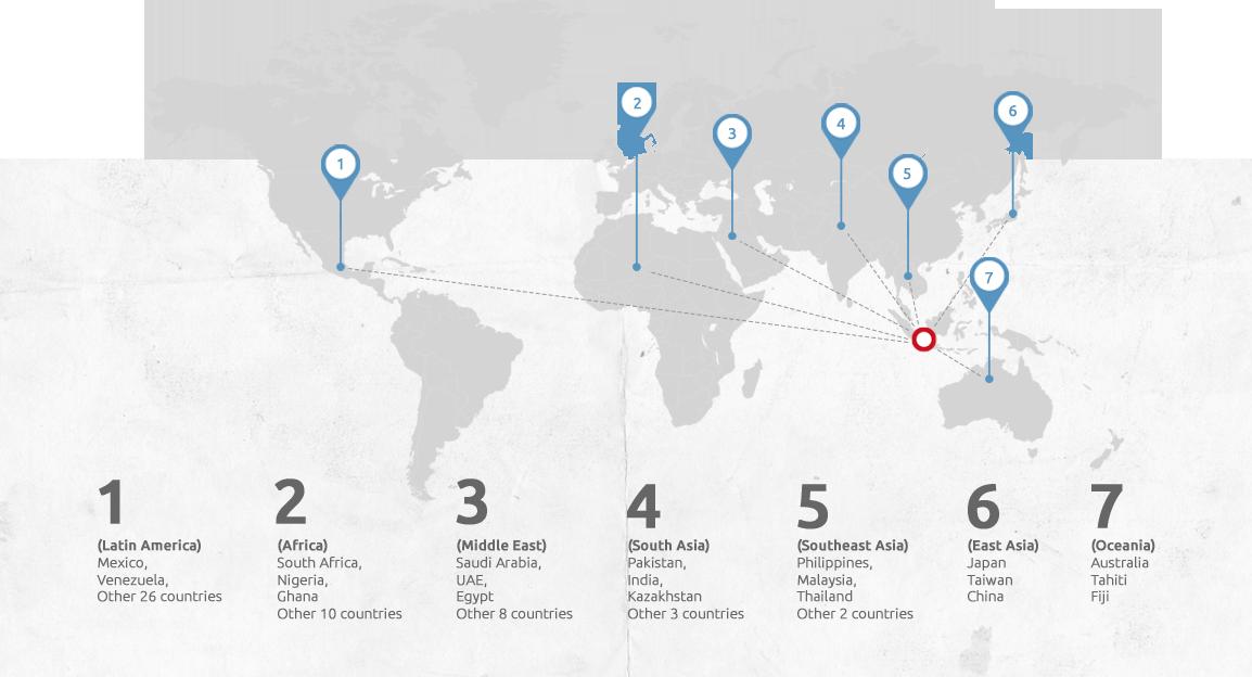 TMMIN Export Destination